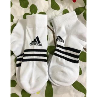 アディダス(adidas)の★ adidas 新品未使用 ソックス2足  23〜25cm(その他)