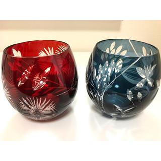 トウヨウササキガラス(東洋佐々木ガラス)のキリコ フリーグラス ペア(グラス/カップ)