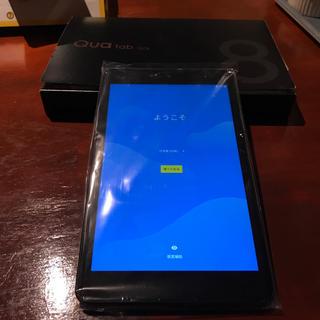 キョウセラ(京セラ)の新品未使用Qua tab QZ8 SIMロック解除(タブレット)