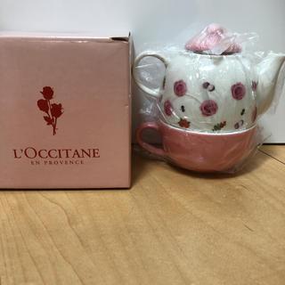 ロクシタン(L'OCCITANE)のロクシタン 非売品 ティーポット、カップセット(食器)
