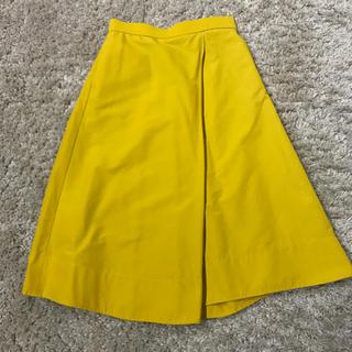 デミルクスビームス(Demi-Luxe BEAMS)のイエロー スカート(ひざ丈スカート)