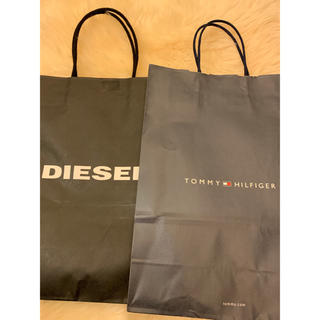 ディーゼル(DIESEL)の紙袋 TOMMY HILFIGER DIESEL(ショップ袋)
