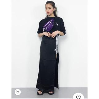 アディダス(adidas)のアディダスオリジナルス スリット ロングスカート (ロングスカート)