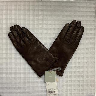 ユニクロ(UNIQLO)のUNIQLO レザーグローブ(手袋)