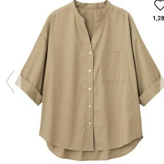 ジーユー(GU)のGUワイドスリーブシャツ(シャツ/ブラウス(半袖/袖なし))