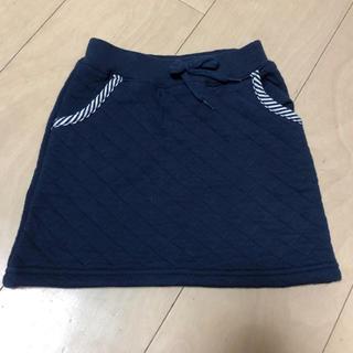 ブリーズ(BREEZE)のBREEZE  キルトスカート 95センチ(スカート)