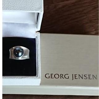 ジョージジェンセン(Georg Jensen)のジョージジェンセン ヘマタイト 124  リング(リング(指輪))