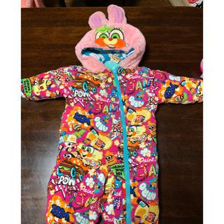 ジャム(JAM)の★即決★JAM★ジャムの可愛いウサギカバーオール★ジャンプスーツ70サイズ(カバーオール)