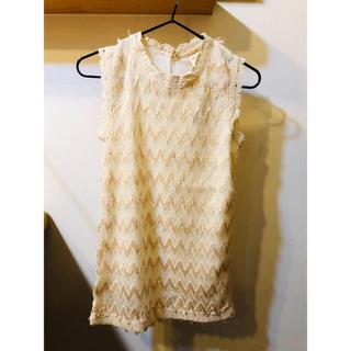 baby 90cmノースリーブドレス(ワンピース)