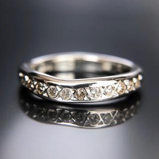 Eleven diamonds SV ring -undulations-04(リング(指輪))
