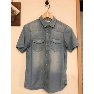 ジーユー(GU)のGU 150 デニムシャツ(ブラウス)