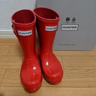 ハンター(HUNTER)のHUNTER キッズレインブーツ UK9(長靴/レインシューズ)