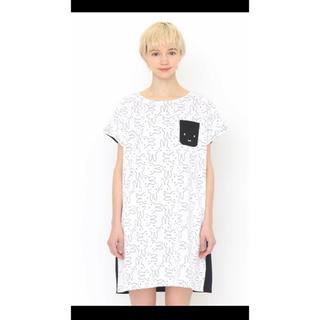 グラニフ(Design Tshirts Store graniph)のグラニフ ミッフィー☆半袖ワンピース(その他)