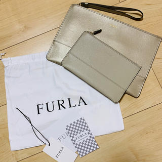 フルラ(Furla)の未使用♡ FURLA フルラ クラッチ(クラッチバッグ)
