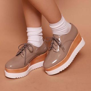ワンアフターアナザーナイスクラップ(one after another NICE CLAUP)のナイスクラップ 厚底 (ローファー/革靴)