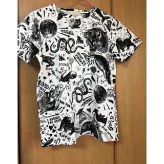 グッチ(Gucci)のGUCCI半袖Tシャツグッチサイズ5 美品 タイガー アニマル 110センチ(Tシャツ/カットソー)