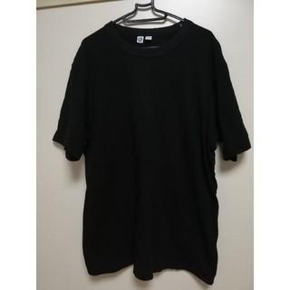 ユニクロ(UNIQLO)の黒TXシャツ(Tシャツ/カットソー(半袖/袖なし))