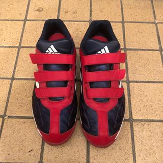 アディダス(adidas)のアディダス 野球 トレーニングシューズ スパイク アディピュア CQ1283 (シューズ)