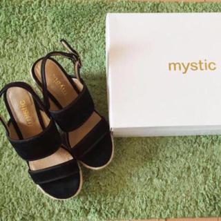 ミスティック(mystic)のmystic スウェードサンダル(サンダル)