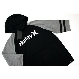 ハーレー(Hurley)の新品 Hurley ハーレー  メンズ 七分丈 パーカー  スウェット(パーカー)