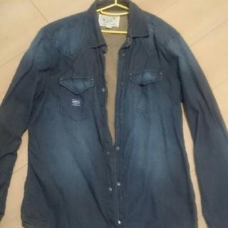ディーゼル(DIESEL)のディーゼル ジャケット 上着 ビンテージ感 デニム風 シャツ(Gジャン/デニムジャケット)