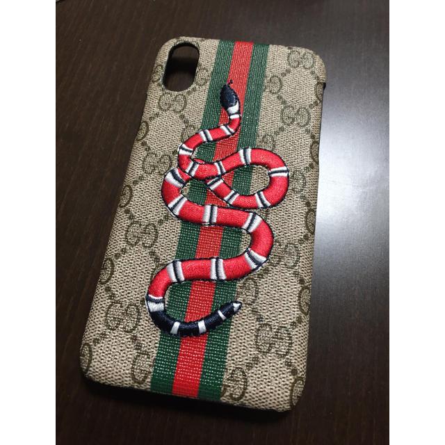 Gucci - 新品・未使用♡iPhoneX,XSケース(赤いベビ)の通販