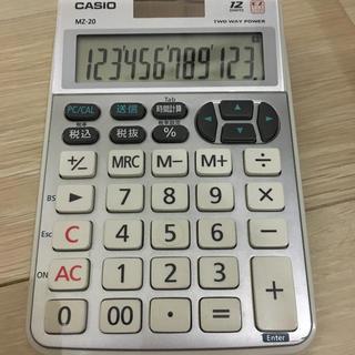 カシオ(CASIO)のカシオ テンキー  MZ20 12桁(その他)