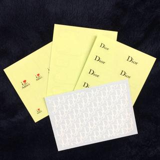 ディオール(Dior)のネイルアートシート(ネイル用品)
