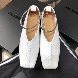 ジルサンダー(Jil Sander)のジルサンダー パンプス バレエシューズ(ローファー/革靴)