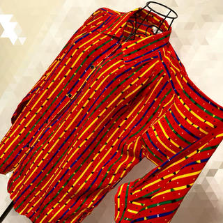 グリモワール(Grimoire)のヴィンテージ 開襟シャツ オープンカラーシャツ ロングシャツ(シャツ)