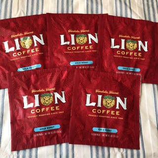 ライオン(LION)の新品 ライオンコーヒー ライオンズ ハワイ ゴールドロースト(コーヒー)