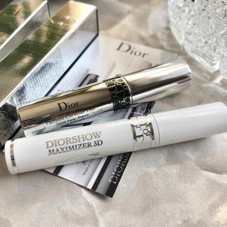 ディオール(Dior)の【ミニサイズ2種】 ディオール オーバーカールマスカラ&マキシマイザー3D   (マスカラ下地 / トップコート)