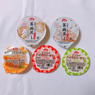 モリナガニュウギョウ(森永乳業)の森永 ハイカロリーゼリー 茶碗蒸し(菓子/デザート)