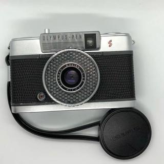 オリンパス(OLYMPUS)の【美品】OLYMPUS PEN  EE  S ブラック フィルムカメラ【完動品】(フィルムカメラ)