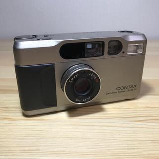 キョウセラ(京セラ)のフィルムカメラ CONTAX T2 データバック(フィルムカメラ)