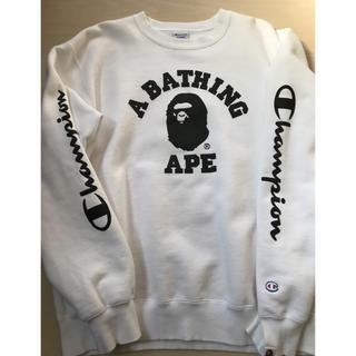 アベイシングエイプ(A BATHING APE)のABATHING APE・チャンピオンコラボ(スウェット)