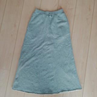 ジーユー(GU)のGU スウェットロングスカート140(スカート)