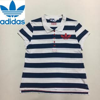 アディダス(adidas)のアディダスオリジナルス ヴィンテージテイスト ポロシャツ フリーサイズ(Tシャツ/カットソー(半袖/袖なし))