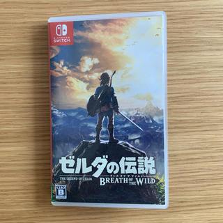 ニンテンドースイッチ(Nintendo Switch)のゼルダの伝説 BREATH OF THE WILD(家庭用ゲームソフト)