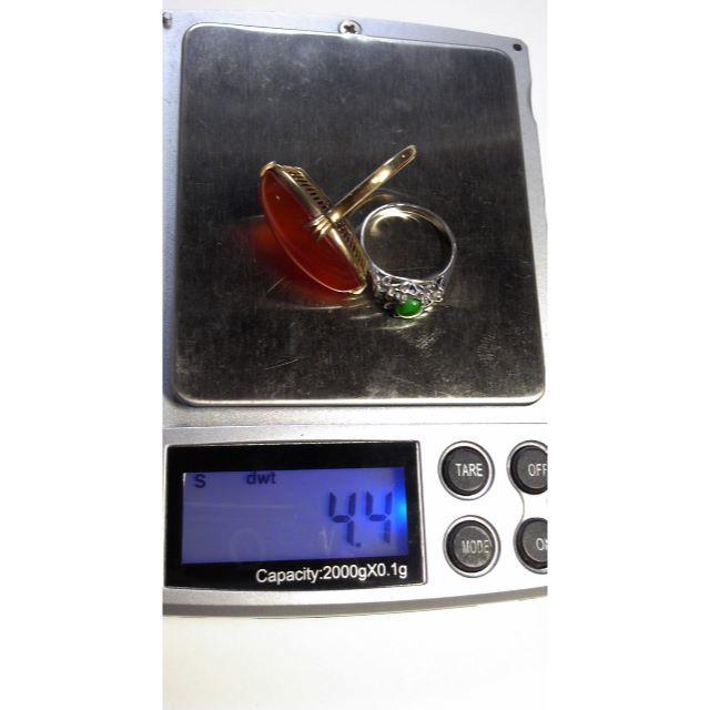 値下げ!昭和レトロリング 18金 2個まとめて 4.4g■ レディースのアクセサリー(リング(指輪))の商品写真