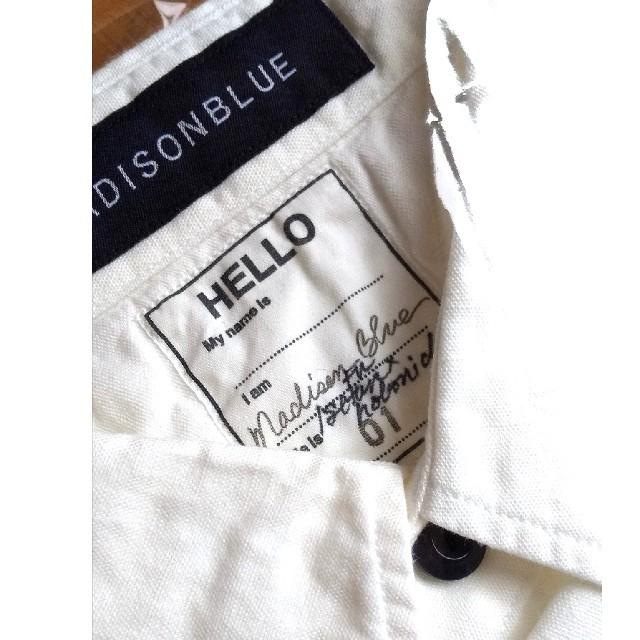 MADISONBLUE(マディソンブルー)の【新品 】★《タグ付き》マディソンブルー・ハンプトン レディースのトップス(シャツ/ブラウス(長袖/七分))の商品写真
