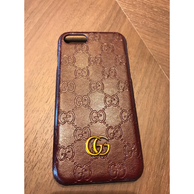 Gucci - GUCCI iPhone7 ケース 赤の通販