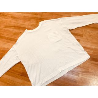 ジーユー(GU)の【GU】ワッフルTシャツ(Tシャツ(長袖/七分))