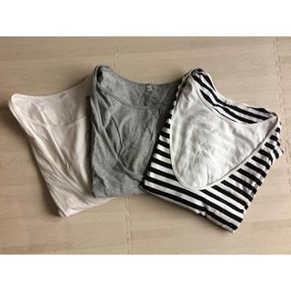 ムジルシリョウヒン(MUJI (無印良品))の授乳服 Tシャツ(マタニティトップス)