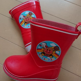 アンパンマン(アンパンマン)のアンパンマン 長靴 レインブーツ 14.0cm 女の子 赤色(長靴/レインシューズ)