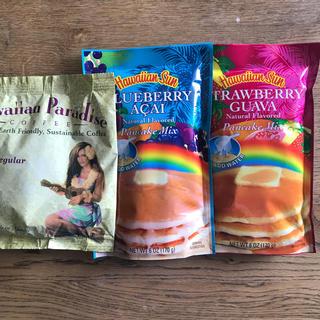 ハワイアンサンコーヒー + ハワイアンパンケーキ セット(菓子/デザート)