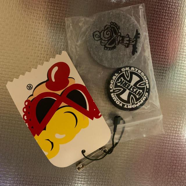 HYSTERIC MINI(ヒステリックミニ)のヒステリックミニ  缶バッチ エンタメ/ホビーのアニメグッズ(バッジ/ピンバッジ)の商品写真