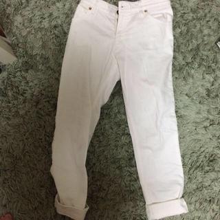 ムジルシリョウヒン(MUJI (無印良品))の無印良品 白パンツ(デニム/ジーンズ)