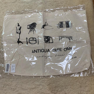 アンティカ(antiqua)のantiqua ノベルティトートバック(ノベルティグッズ)