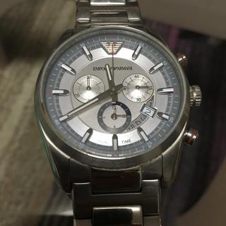 エンポリオアルマーニ(Emporio Armani)のEMPORIO ARMANI アルマーニ 腕時計 メンズ シルバー AR6036(腕時計(アナログ))